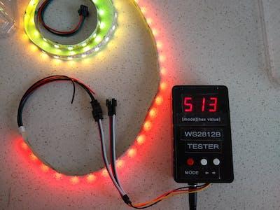 WS2812B Tester