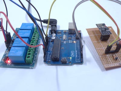 Home Automation Using ESP8266 Wi-Fi Module Without Internet