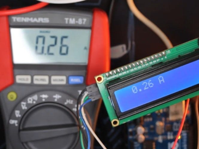 Measure Any AC Current with ACS712