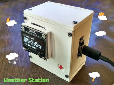 Simple Weather Station V2.0