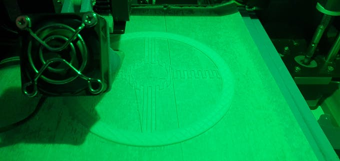 3D Printing our cover.... STL file at the end.