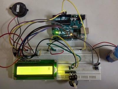 Parkour Game Using Arduino