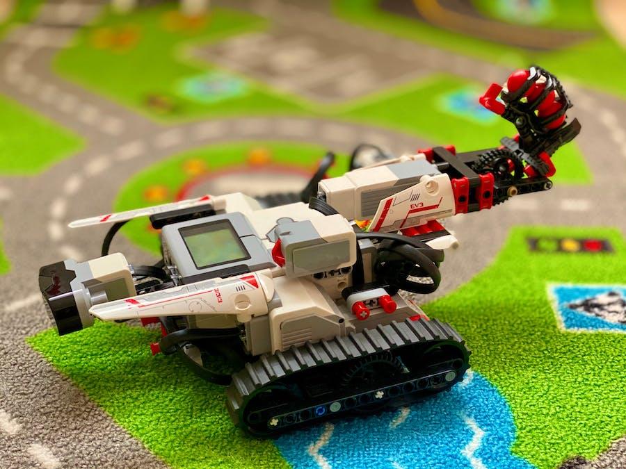 Lego Battle Alexa Voice Controlled Playground