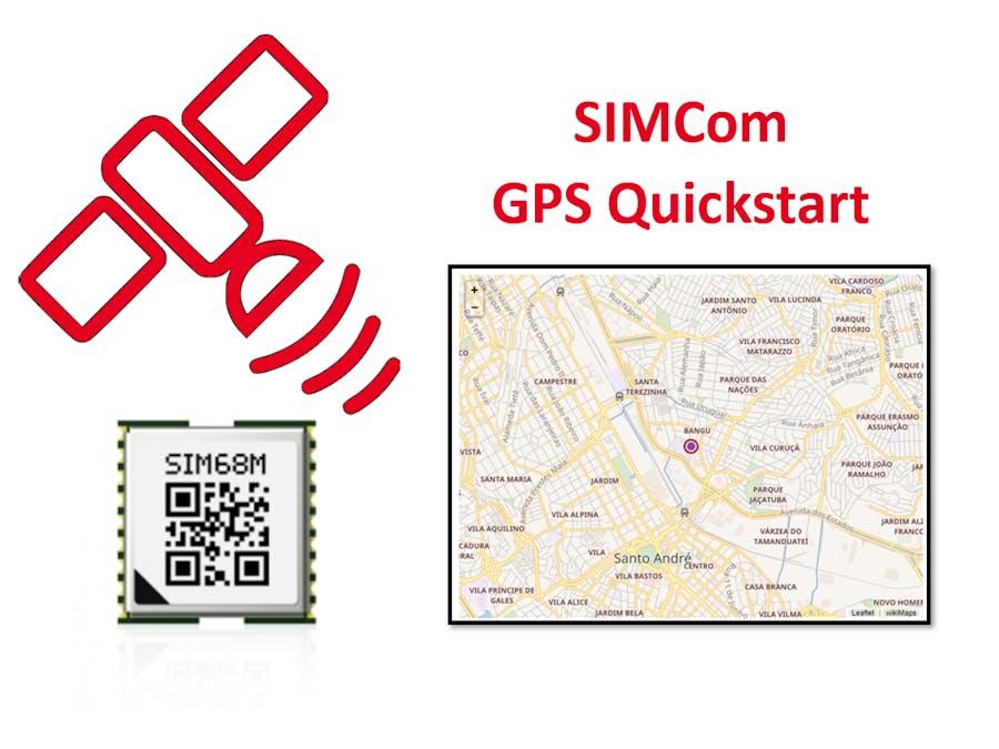 SIMCOM - GPS Quickstart