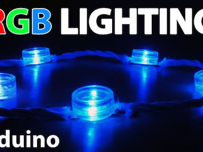 Decorative RGB Lights Using an Arduino