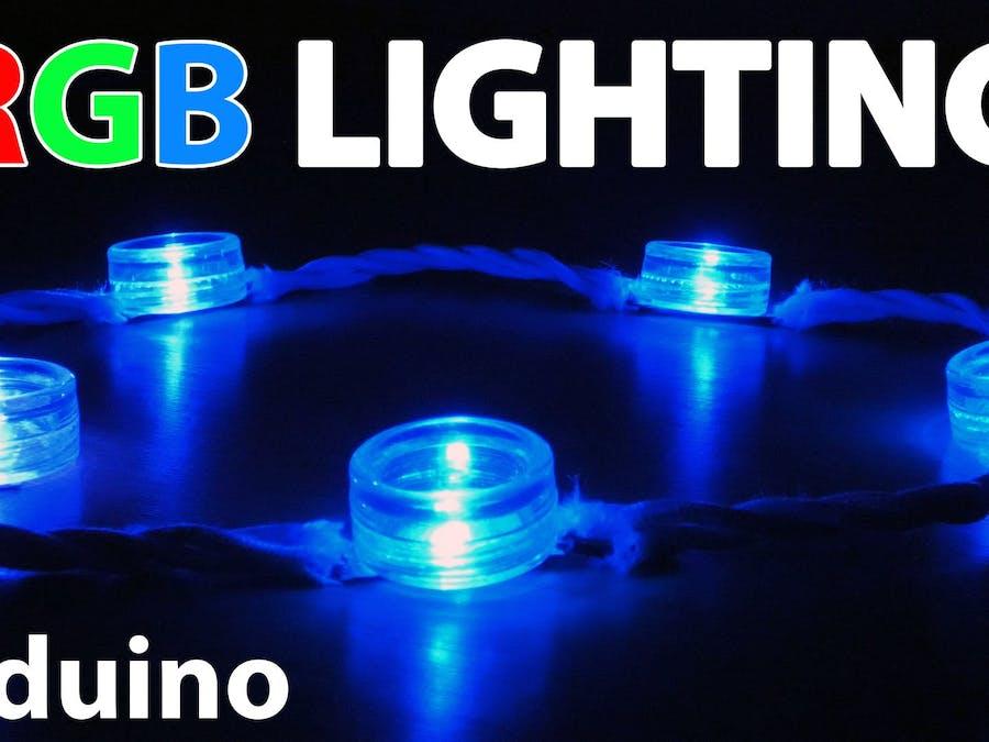 Decorative RGB Lights Using an Arduino