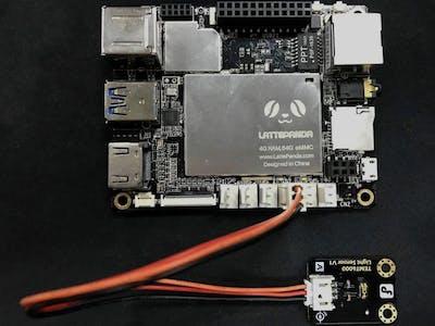 Send Light Sensor Data to Azure Storage