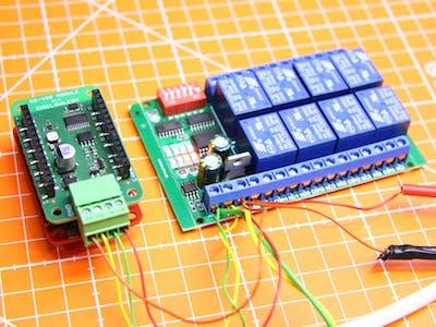 MQTT Controlled Modbus Relay Over Radio