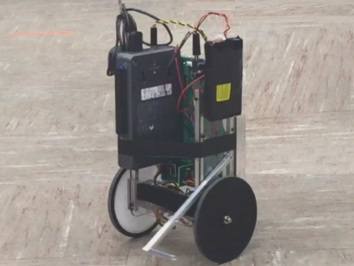 SegBot with Color Based State Machine