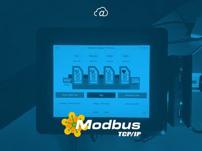 Simulating an Offset Printing Machine with Modbus