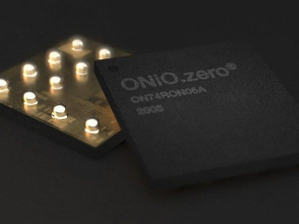ONiO.zero Offers Up to 24MHz of RISC-V Microcontroller Performance on Nothing but Harvested Energy