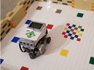 DWR - An Alexa voice enabled maze-solving LEGO robot