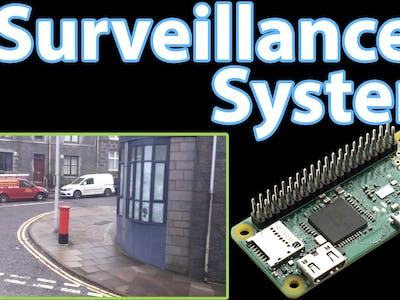 IP Camera Using the Raspberry Pi Zero (Home Surveillance P1)