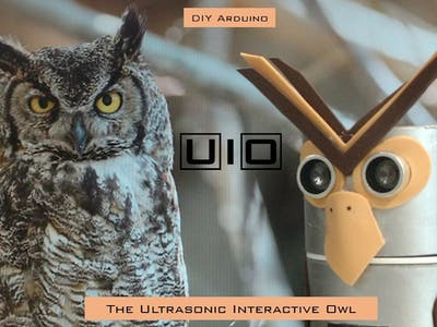 U I O - The Ultrasonic Interactive Owl