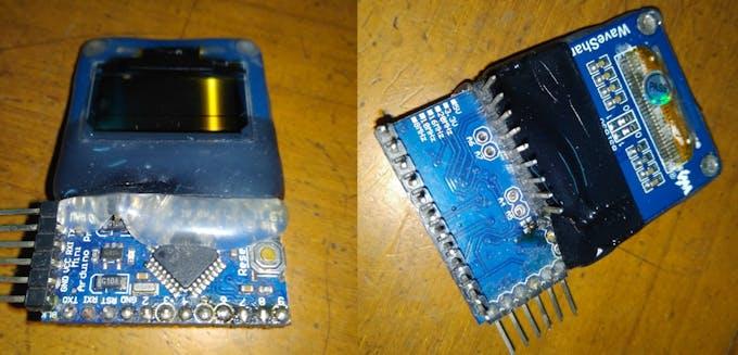 Arduino Pro Mini + 1306 OLED
