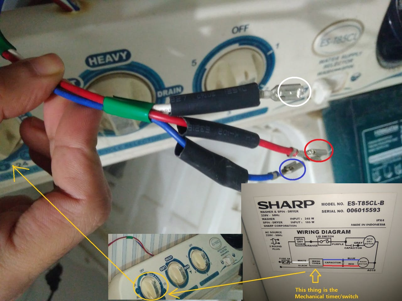 [DIAGRAM_38IU]  Washing Machine Timer - Hackster.io | Wiring Diagram Of Washing Machine Timer |  | Hackster.io