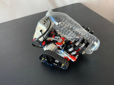 Voice Activated - Water Bottle Fetching Robot