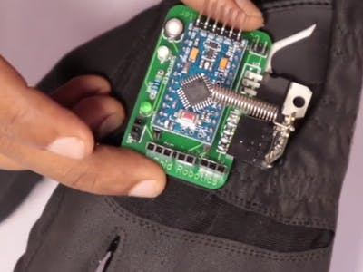Arduino Gesture Robot Controller