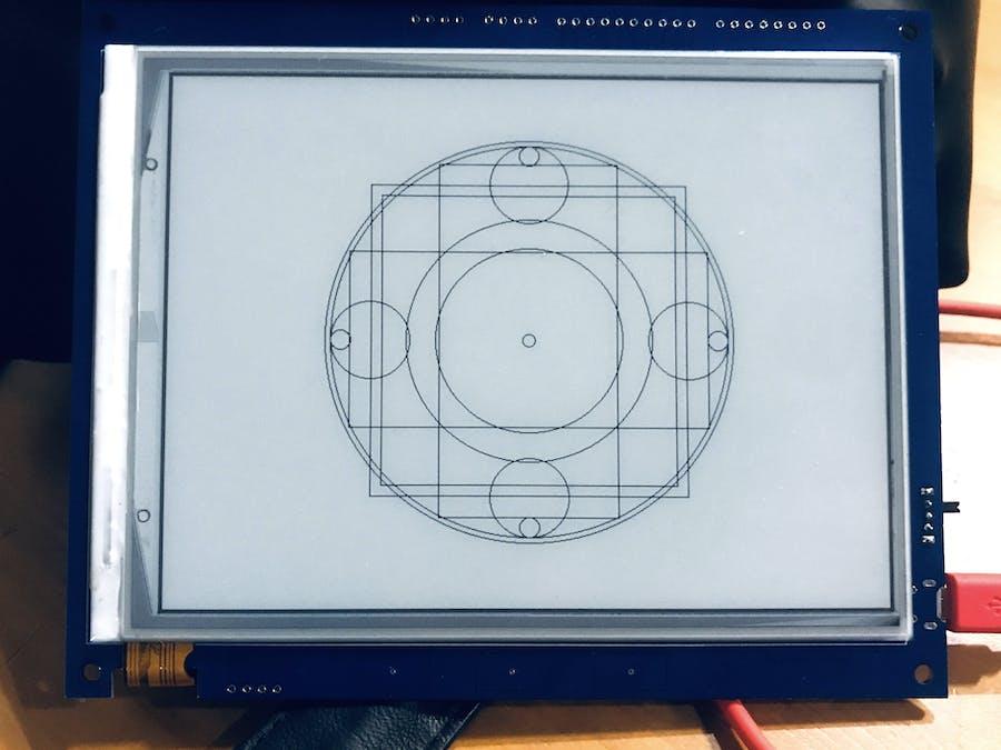 "InkPlate ""Arcane Circle"" Generator"