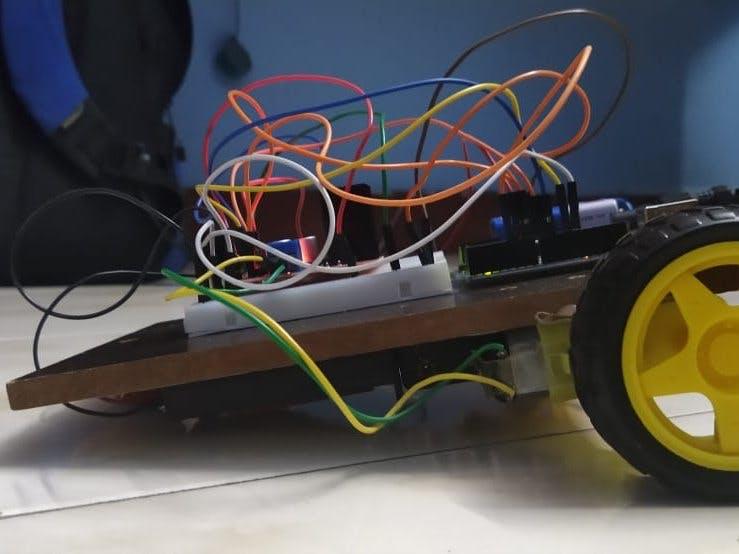 IR - Remote Control Car