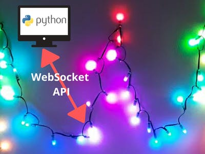 Internet API for LED Pixel Strip based on ESP32