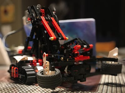 Alexa-Powered LEGO EV3 Autonomous Robotic Arm (GRASP3R)