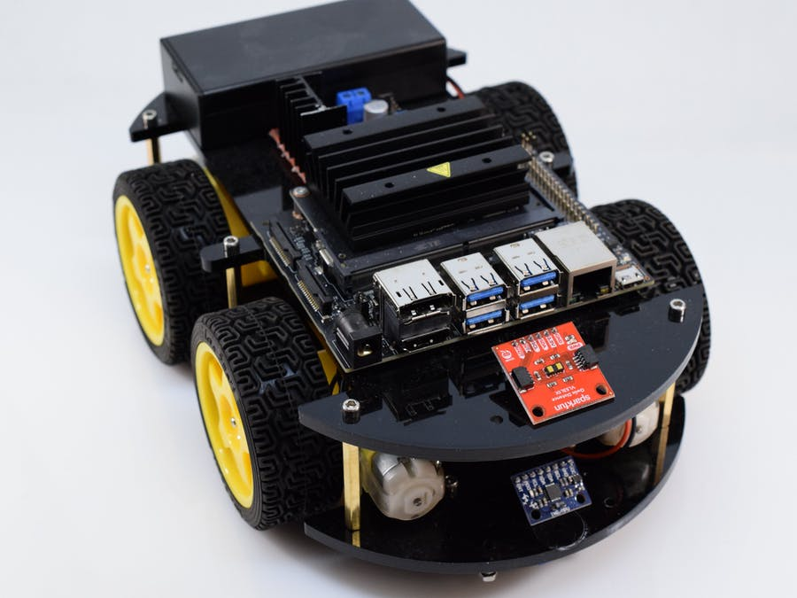 Building a Custom JetBot with Jetson Nano