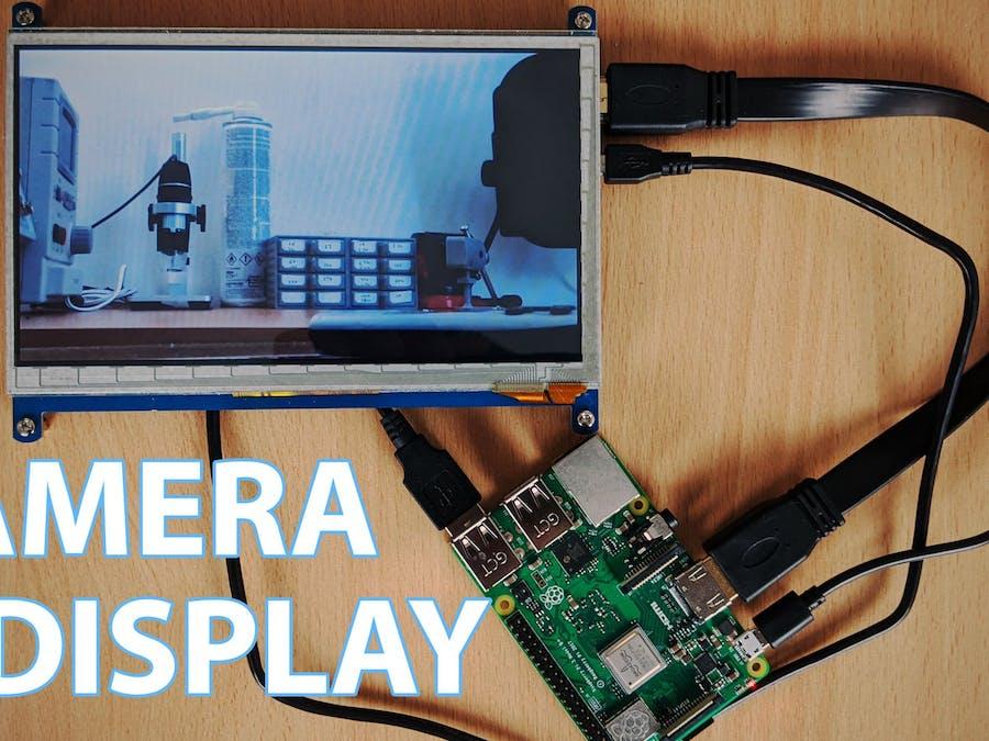 IP Camera Display/Monitor Using a Raspberry Pi