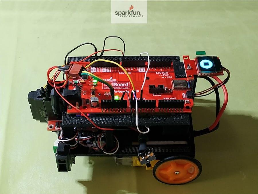 Self Driving Car Using RedBoard Artemis ATP