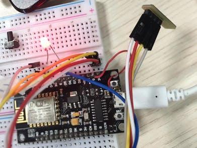 Control LED and SHT3x via Blynk