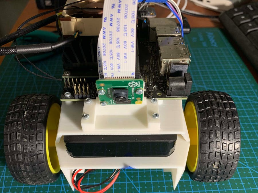 Computer Vision of Robotics — Nvidia JetBOT