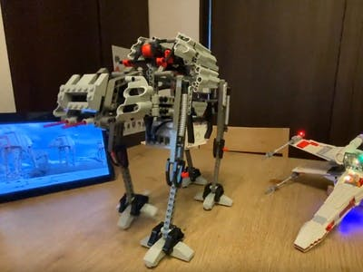 Star Wars - AT-AT - LEGO MINDSTORMS Voice Challenge