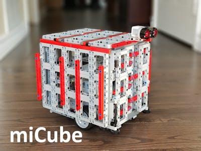 miCube Alexa Voice Controlled LEGO EV3 Robot