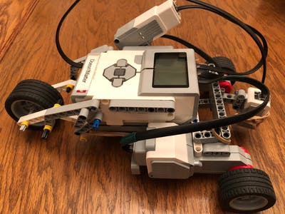 Lego EV3 Trike that Rocks in More Ways than One