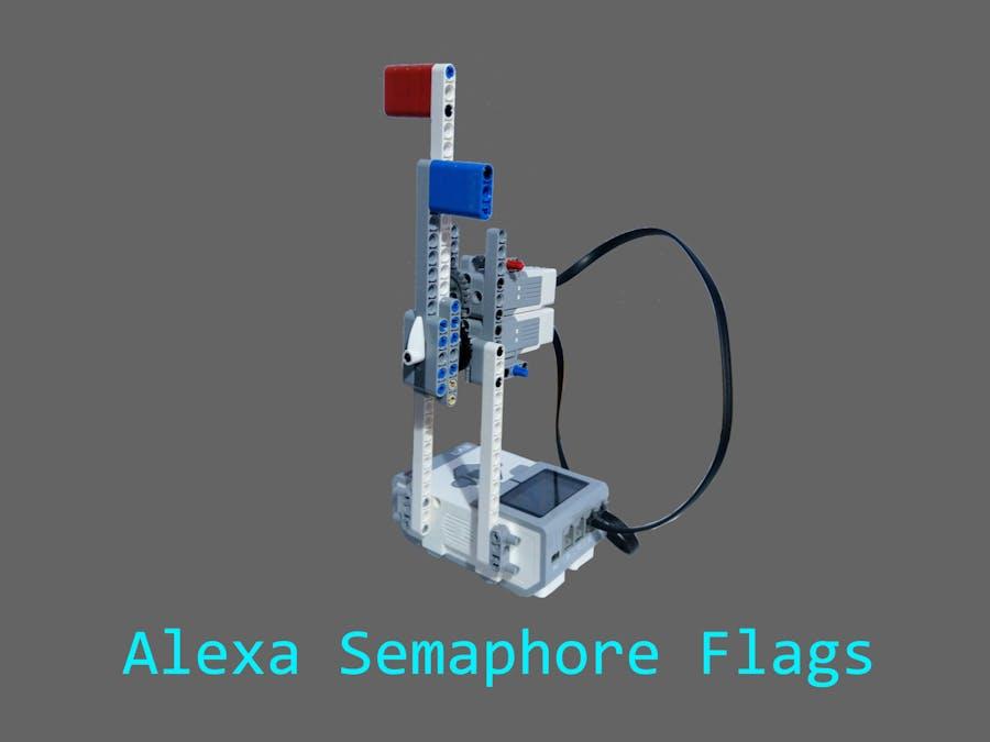 Alexa Semaphore Flags