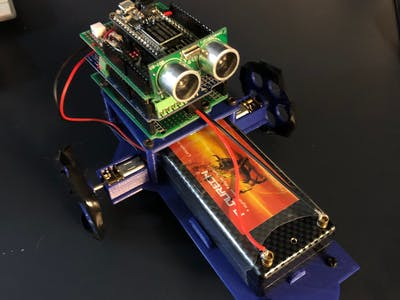 Crawler V2! A Obstacle Avoiding Robot