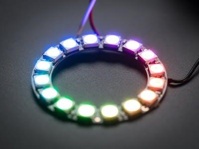 Arduino Neopixel LED Ring Ws2812 - Visuino Tutorial