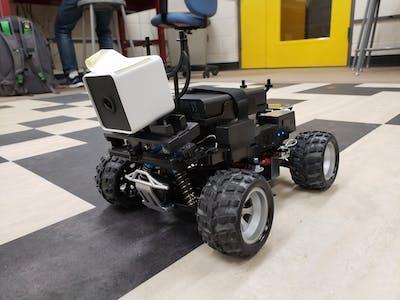 AWS DeepRacer to Autonomous Rover