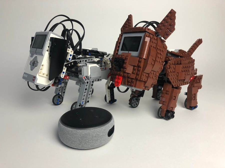 Lego Mindstorms Puppy Training: Using Alexa Voice Control