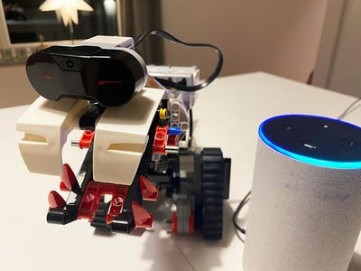 Alexa powered LEGO MINDSTORMS T-Rex