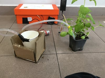 Smart Irrigation System (using M5STACK)