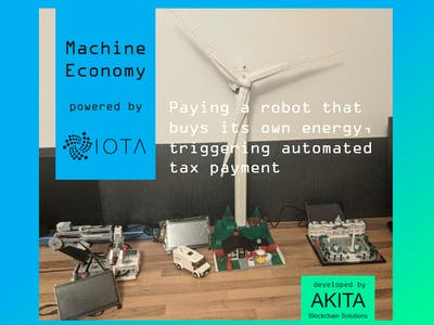 IOTA Machine Payment Module by AKITA