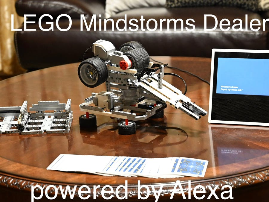 Mindstorms Card Dealer Powered By Alexa