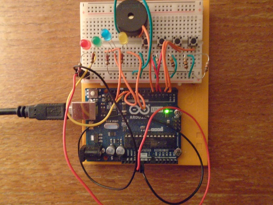 Sezme: A Memory Game for the Arduino