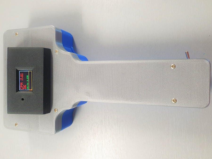 Handheld Geiger Counter with Arduino Nano