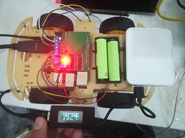 Raspberry Pi DC Motor Control with Custom Board