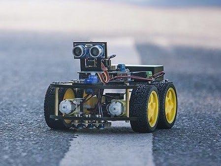 Line Follower Robot -Very Fast Using Port Manipulation