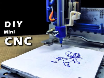 How to Make Mini CNC Machine