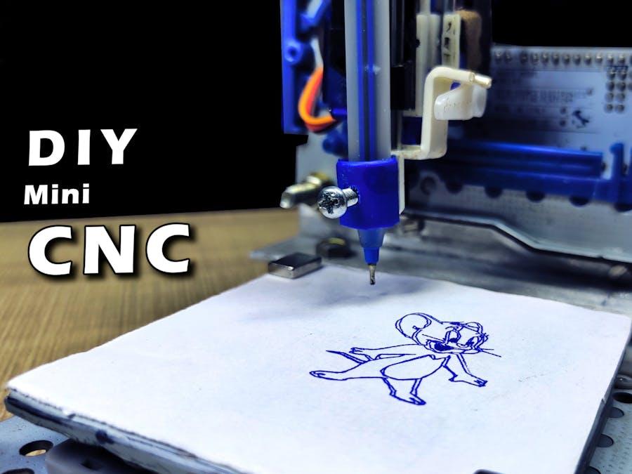 How to Make Mini CNC Machine