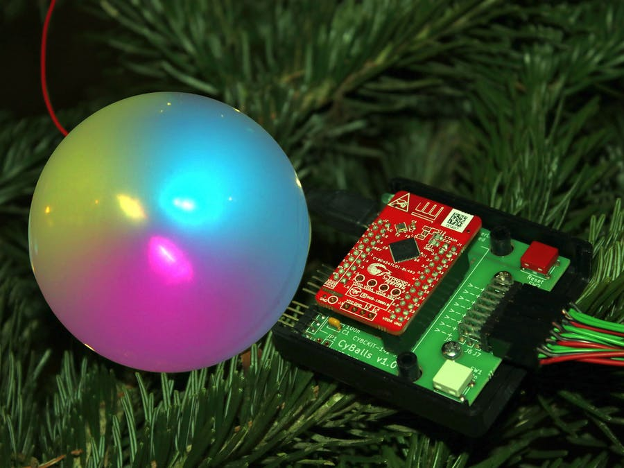 CyBalls (Christmas bauble)